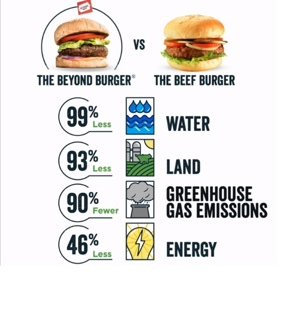 Beyond Meat Releases Impact Report Quantifying the Environmental Benefits of The Beyond Burger.3