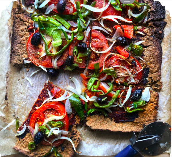 Lentil Crust Pizza_vegans_news