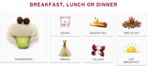 Pret a Manger Launches Biggest Menu