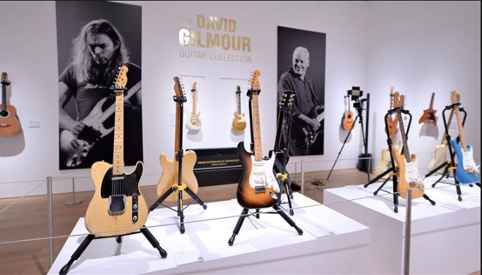 David Gilmour Auctions Off 126 Guitars